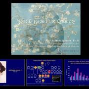 Electronic presentation about creativity and mood disorders