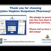 Custom Design of Outpatient Pharmacy Card – Survey